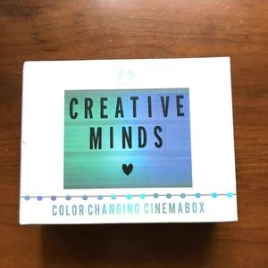 NEW Color Changing Cinema Box